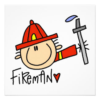 Fireman Invites
