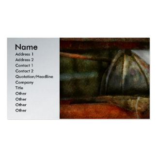 Fireman - Leather Head Pack Of Standard Business Cards