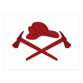 Fireman Logo Postcard