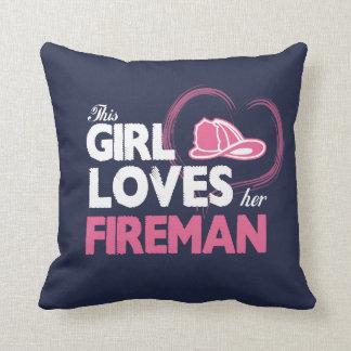 Fireman Lover Cushion