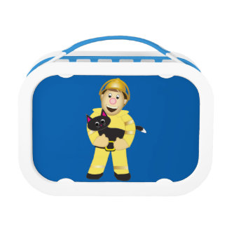 Fireman Lunch Box