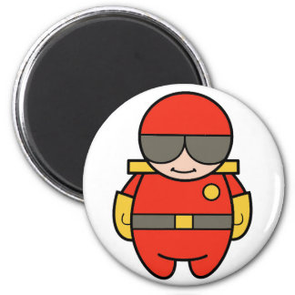 fireman fridge magnets