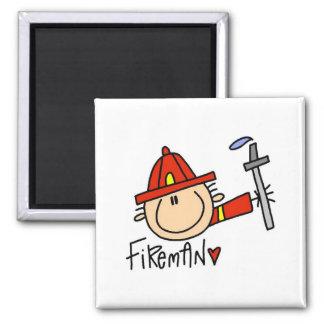 Fireman Magnet Fridge Magnets