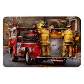 Fireman - Metuchen Fire Department Rectangle Magnets