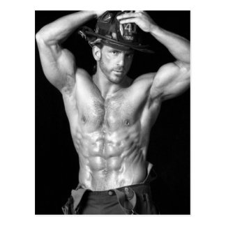 Fireman Postcard #2