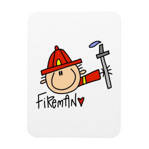 Fireman Magnet