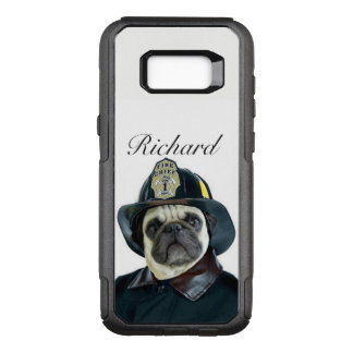 Fireman Pug Dog Samsung Galaxy S8+ phone case