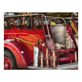 Fireman - Ready for a fire Personalized Invite