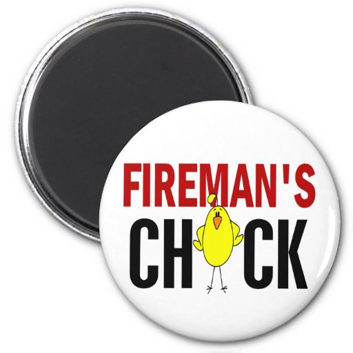 Fireman's Chick Magnets