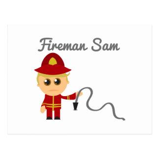 Fireman Sam Postcard