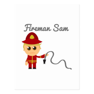 Fireman Sam Post Cards