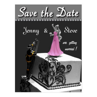 Fireman Save the Date Card Post Cards