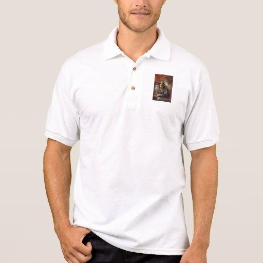 Fireman - Steam Powered Water Pump Polo T-shirts