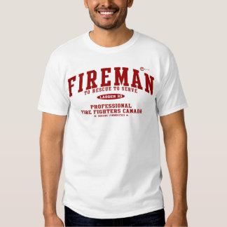 Fireman T Shirt