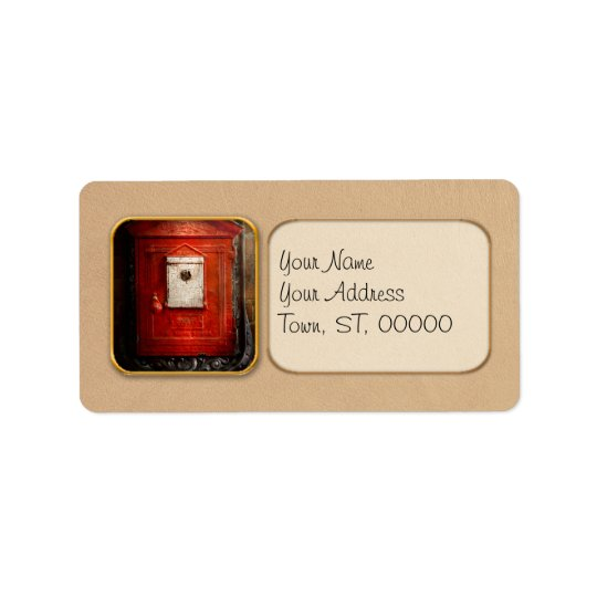 Fireman - The fire box Address Label