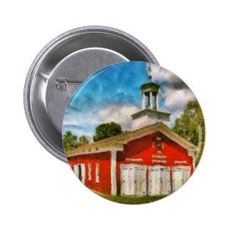 Fireman - The Fire house Pinback Buttons