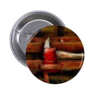 Fireman - The Fireman s Axe Pinback Buttons
