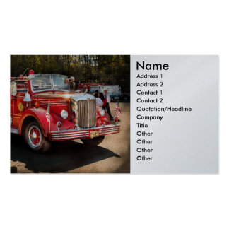 Fireman - The Procession Business Card