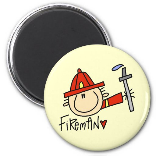 Fireman Tshirts and Gifts Refrigerator Magnets