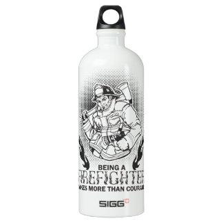 Fireman Water Bottle