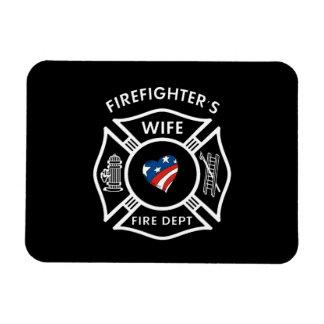 Fireman Wives USA Magnet