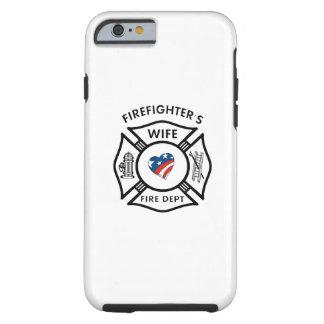 Fireman Wives USA Tough iPhone 6 Case
