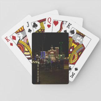 Firemans Landing Christmas Playing Cards