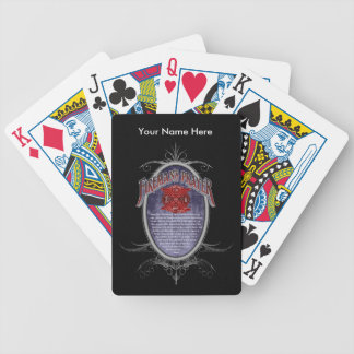 Firemans Prayer_ Bicycle Playing Cards