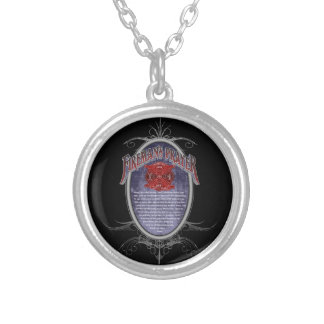 Firemans Prayer_ Silver Plated Necklace