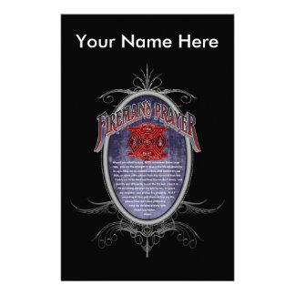 Firemans Prayer_ Stationery
