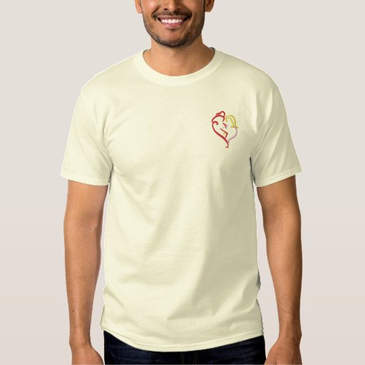 Fireman's Wife Embroidered T-Shirt