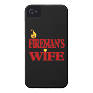 Fireman's Wife iPhone 4 Cases