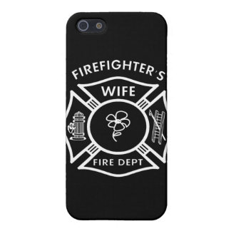 Fireman's Wife iPhone 5/5S Covers