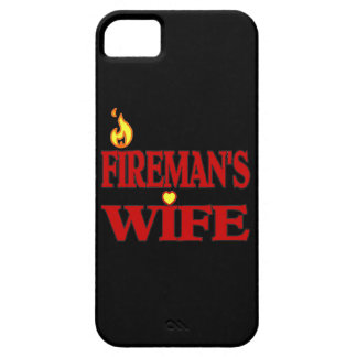 Fireman's Wife iPhone 5 Cover