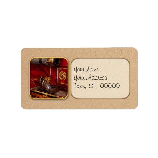 Firemen - An elegant job Address Label