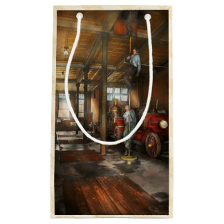 Firemen - Answering the firebell 1922 Small Gift Bag