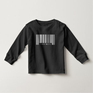 Firemen Barcode Toddler T-Shirt