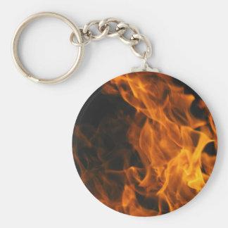 Firemen Flames Fire Peace Office Art Love Destiny Key Chains