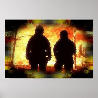 Firemen Poster