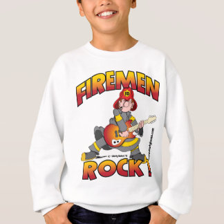 FIREMEN ROCK shirt.png Sweatshirt