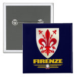 Firenze (Florence) 15 Cm Square Badge