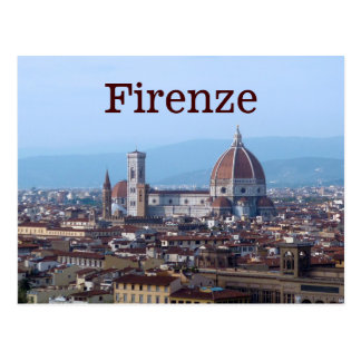 Firenze Florence Italy Postcard