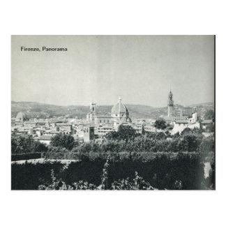 Firenze,Florence, Panorama Postcard