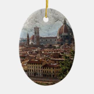 Firenze II Ceramic Ornament