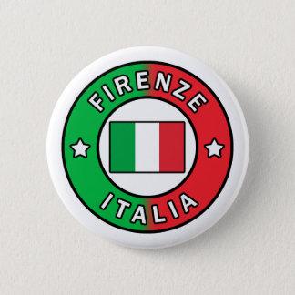 Firenze Italia 6 Cm Round Badge