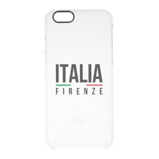 Firenze Italia Clear iPhone 6/6S Case