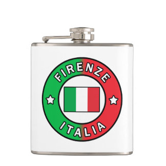 Firenze Italia Hip Flask