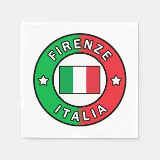 Firenze Italia Paper Serviettes