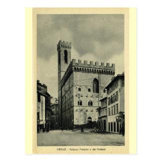 Firenze Palazzio Pretorio 1 Postcard