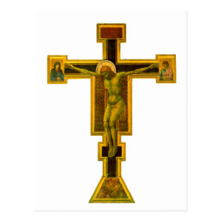 Firenze Santa Maria Novella, Crucifix Postcard